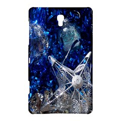 Christmas Silver Blue Star Ball Happy Kids Samsung Galaxy Tab S (8 4 ) Hardshell Case