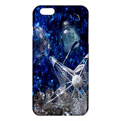 Christmas Silver Blue Star Ball Happy Kids Iphone 6 Plus/6s Plus Tpu Case