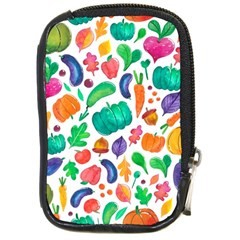 Pattern Autumn White Compact Camera Cases