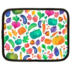 Pattern Autumn White Netbook Case (xl)