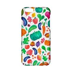 Pattern Autumn White Apple Iphone 6/6s Hardshell Case