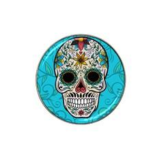 Sugar Skull New 2015 Hat Clip Ball Marker