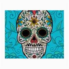 Sugar Skull New 2015 Small Glasses Cloth