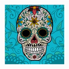 Sugar Skull New 2015 Medium Glasses Cloth (2 Side)