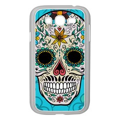 Sugar Skull New 2015 Samsung Galaxy Grand Duos I9082 Case (white)