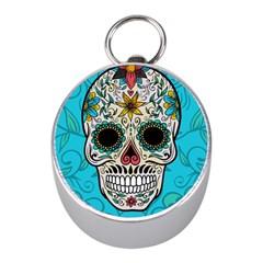 Sugar Skull New 2015 Mini Silver Compasses