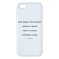Inspirational Quote (arthur Young) Apple Iphone 5 Premium Hardshell Case