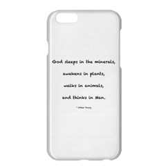 Inspirational Quote (arthur Young) Apple Iphone 6 Plus/6s Plus Hardshell Case