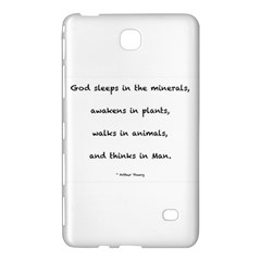 Inspirational Quote (arthur Young) Samsung Galaxy Tab 4 (7 ) Hardshell Case