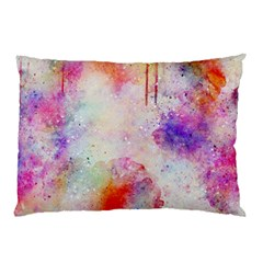 Watercolor Galaxy Purple Pattern Pillow Case