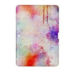 Watercolor Galaxy Purple Pattern Samsung Galaxy Tab 2 (10 1 ) P5100 Hardshell Case