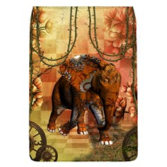 Steampunk, Steampunk Elephant With Clocks And Gears Flap Covers (l)