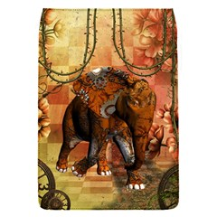 Steampunk, Steampunk Elephant With Clocks And Gears Flap Covers (s)