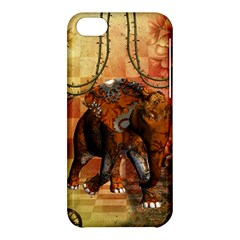 Steampunk, Steampunk Elephant With Clocks And Gears Apple Iphone 5c Hardshell Case