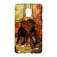 Steampunk, Steampunk Elephant With Clocks And Gears Galaxy Note Edge