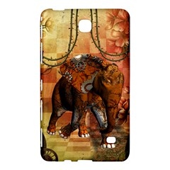 Steampunk, Steampunk Elephant With Clocks And Gears Samsung Galaxy Tab 4 (8 ) Hardshell Case
