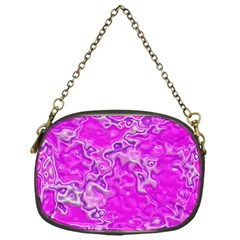 Wet Plastic, Pink Chain Purses (one Side)