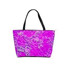 Wet Plastic, Pink Shoulder Handbags