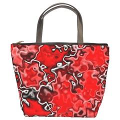 Wet Plastic, Red Bucket Bags