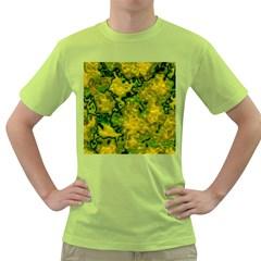 Wet Plastic, Yellow Green T Shirt
