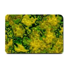 Wet Plastic, Yellow Small Doormat