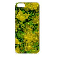 Wet Plastic, Yellow Apple Iphone 5 Seamless Case (white)
