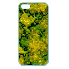 Wet Plastic, Yellow Apple Seamless Iphone 5 Case (color)