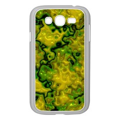 Wet Plastic, Yellow Samsung Galaxy Grand Duos I9082 Case (white)