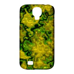 Wet Plastic, Yellow Samsung Galaxy S4 Classic Hardshell Case (pc+silicone)