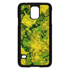 Wet Plastic, Yellow Samsung Galaxy S5 Case (black)
