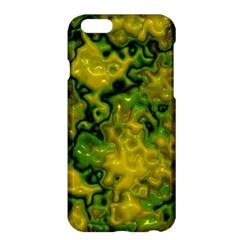 Wet Plastic, Yellow Apple Iphone 6 Plus/6s Plus Hardshell Case