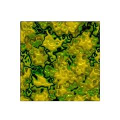Wet Plastic, Yellow Satin Bandana Scarf