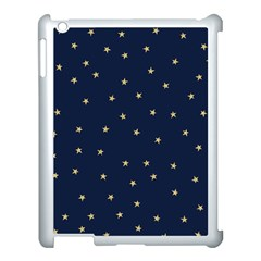 Navy/gold Stars Apple Ipad 3/4 Case (white)