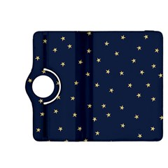 Navy/gold Stars Kindle Fire Hdx 8 9  Flip 360 Case