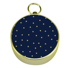 Navy/gold Stars Gold Compasses