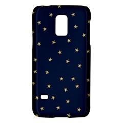 Navy/gold Stars Galaxy S5 Mini
