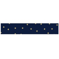 Navy/gold Stars Flano Scarf (large)