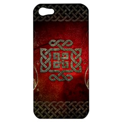 The Celtic Knot With Floral Elements Apple Iphone 5 Hardshell Case