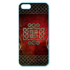 The Celtic Knot With Floral Elements Apple Seamless Iphone 5 Case (color)