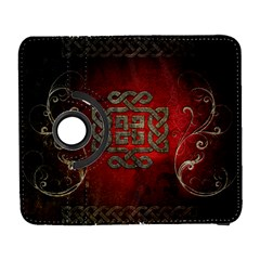 The Celtic Knot With Floral Elements Galaxy S3 (flip/folio)