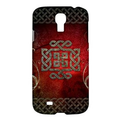 The Celtic Knot With Floral Elements Samsung Galaxy S4 I9500/i9505 Hardshell Case