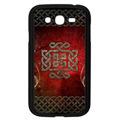The Celtic Knot With Floral Elements Samsung Galaxy Grand Duos I9082 Case (black)
