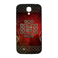 The Celtic Knot With Floral Elements Samsung Galaxy S4 I9500/i9505  Hardshell Back Case