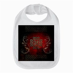The Celtic Knot With Floral Elements Bib