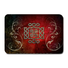 The Celtic Knot With Floral Elements Plate Mats