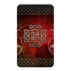 The Celtic Knot With Floral Elements Memory Card Reader