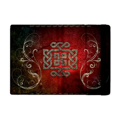 The Celtic Knot With Floral Elements Apple Ipad Mini Flip Case