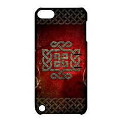 The Celtic Knot With Floral Elements Apple Ipod Touch 5 Hardshell Case With Stand