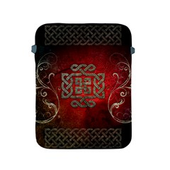 The Celtic Knot With Floral Elements Apple Ipad 2/3/4 Protective Soft Cases