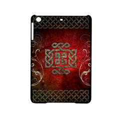 The Celtic Knot With Floral Elements Ipad Mini 2 Hardshell Cases